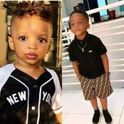 Wizkid's Son Vs Tiwa Savage's Son, who is more handsome and dresses better? [Photos]