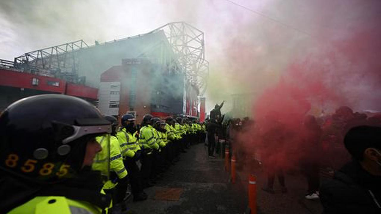 Manchester United Glazers protest RECAP as two arrested ahead of Liverpool fixture