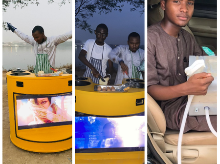 See what this Nigerian undergraduate from the North has built for people (Photos)