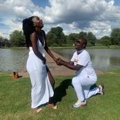 Twitter Fans Attack A Man For Proposing A Woman Who Is 30 Years Younger