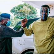 Check the name Pastor Adeboye called Prof Osinbajo as he celebrates his 64th birthday