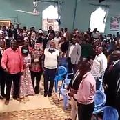 Video: Church Breaks Into Song And Dance As Kangata Is Called To Address In AIPCA In Gatanga