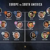 Europe Best XI vs South America Best XI, Who Will Win?