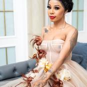 Look at what people Saw when Kelly Khumalo Shared Pictures of Her wearing a See Thru Dress (Opinion)