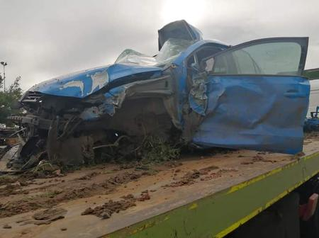 Horrible accident has happened in Vryburg