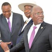 Salaries Of Uhuru Kenyatta, John Magufuli And Museveni