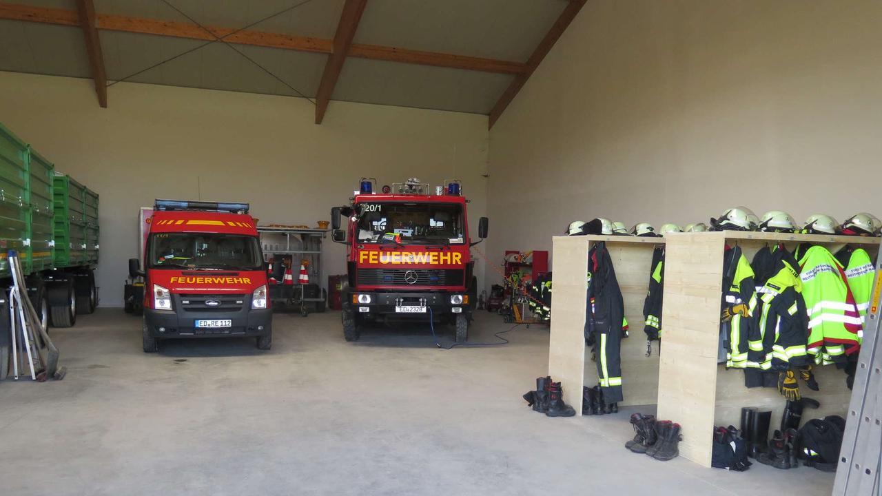 10000 Arbeitsstunden fürs eigene Feuerwehrhaus