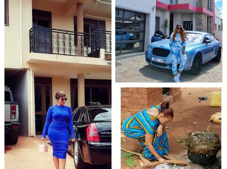 Motivation Sunday:Zari Hassan's Childhood Home Versus Her Current Homes (Photos)