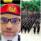 Nnamdi Kanu reveals who the Eastern Security Network (ESN) are after, read what he said on Twitter.