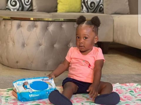 Mercy Johnson Threatens Not To Give Food To Her Baby. See Reason