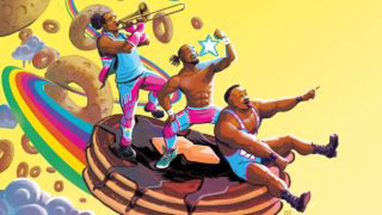 WWE's The New Day spread positivity in preview of their new comic book series