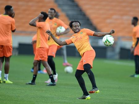 Percy Tau Vow To Finish Top Scorer In The Qualifiers For Cameroon 2021
