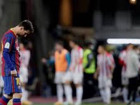 Athletic Club Crowned Champions As Messi Was Sent Off