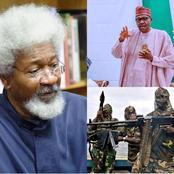 Wole Soyinka Sends Buhari A Strong Message! Read What He Said