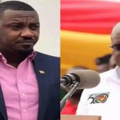 Just give us the Dumsor timetable to plan our life – John Dumelo to Akufo Addo