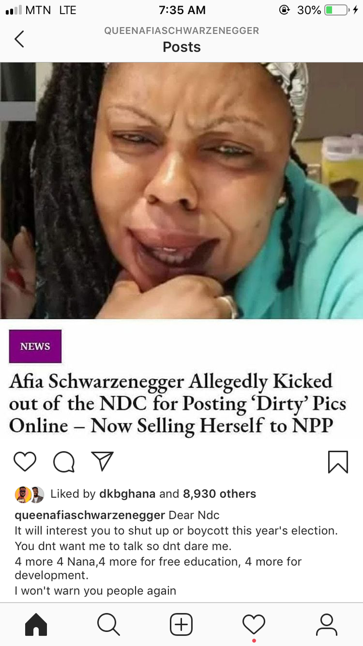 d07a6a77aed70624dfbf4b9949d711c7?quality=uhq&resize=720 - You Don't Want Me To Talk So Don't Dare Me - Afia Schwar Warns The NDC