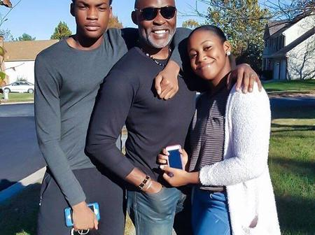 Family Ties; See photos of RMD Richard Mofe Damijo, second wife and children