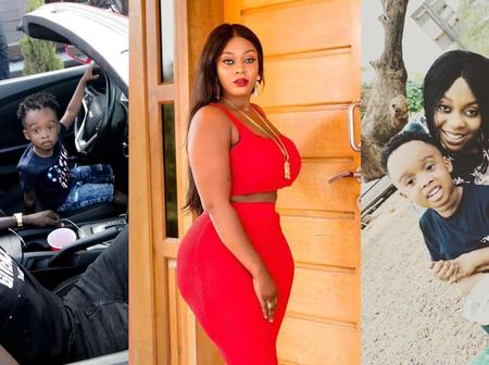 Criss Kwaku Waddle, The CEO Of AMG Business Flaunts His Alleged Girlfriend, Son And Cars In Pics