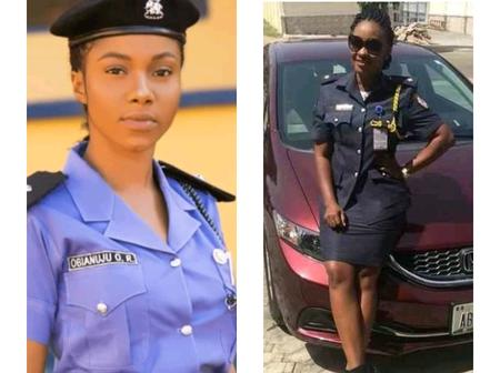 Check 5 of the most attractive female police officers from Nigeria