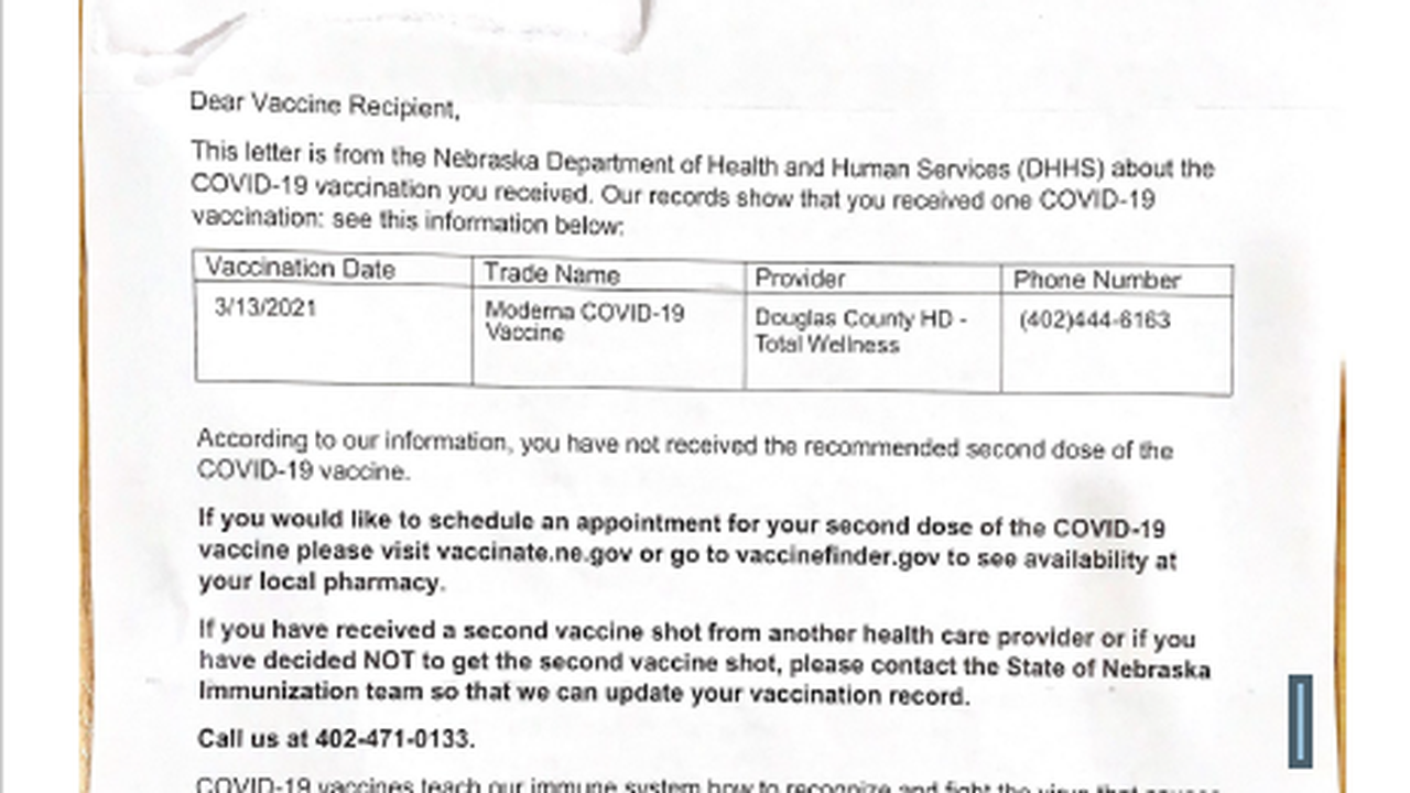 Letter: Get the vaccine