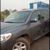 Driver rams into police man on duty, while trying to evade LASTMA arrest