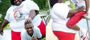 Family Advised To Rescue a Young Man From His Fat Wife After She Sat On Him