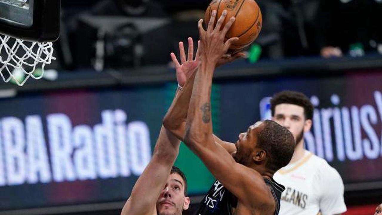 Kevin Durant makes winning return as Brooklyn Nets see off New Orleans Pelicans