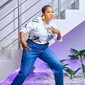 Mixed Reactions As Actress Toyin Abraham Reveals That She Put On Her Husband Cloth To A Movie Premier
