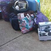 KZN Women Angers People After Posting Pictures Of Her Kicking Out A Tenant Who Couldn't Pay Rent