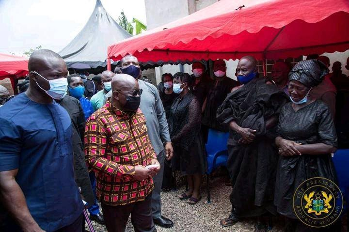 d0b7df658c29d1913a92fb5bd8e96574?quality=uhq&resize=720 - President Akufo-Addo visits The Mfantseman MP's family home to mourn (Photos)