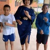 Months After She Converted Back To Islam, See Photos Of The Nollywood Actress And Her Children