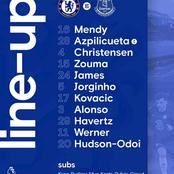 Chelsea & Everton Make Final Squad Changes ahead of their Premier League Clash