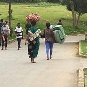 Des étudiants abandonnent des cités universitaires après une attaque armée, hier, au campus