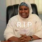 SO SAD BUT R.I.P: Another Prominent Nigerian is No More, See What Happened To Her