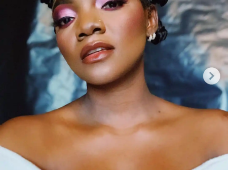 See what Brodashaggi, Dj Spinall, Toyin Abraham and others said after Simi posted new photos on IG.