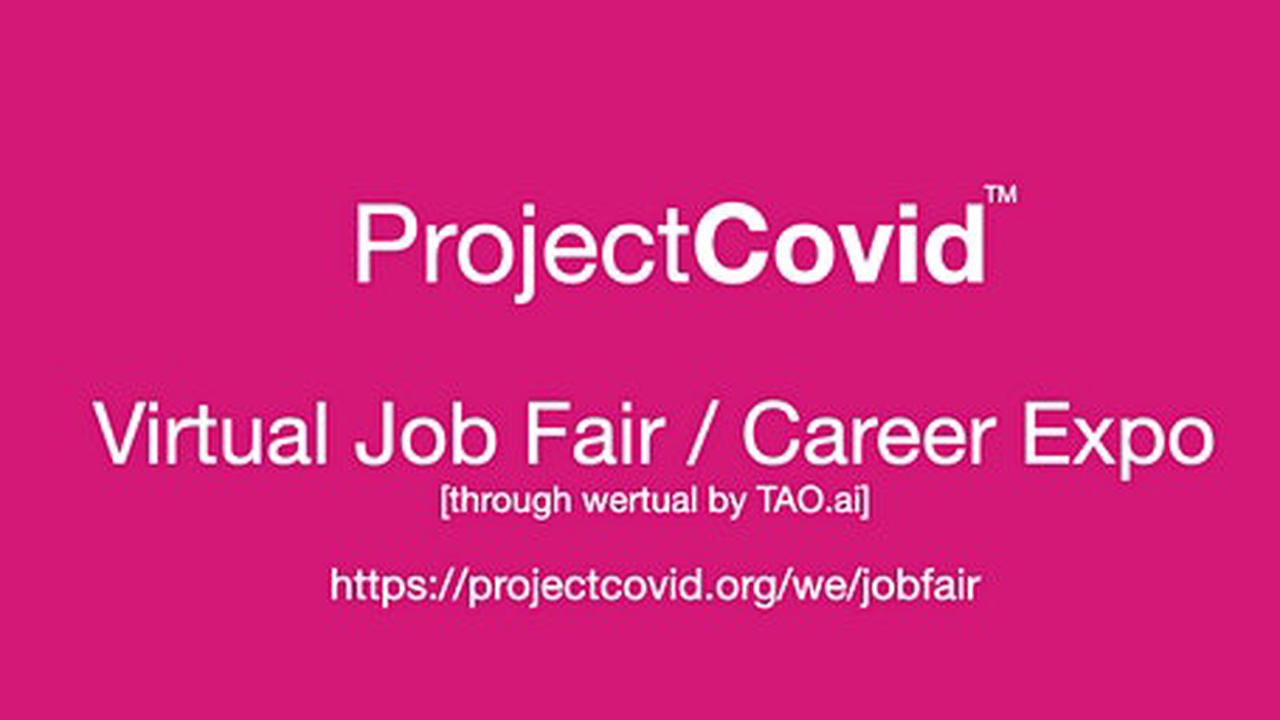 #ProjectCovid Virtual Job Fair / Career Expo Event #Indianapolis