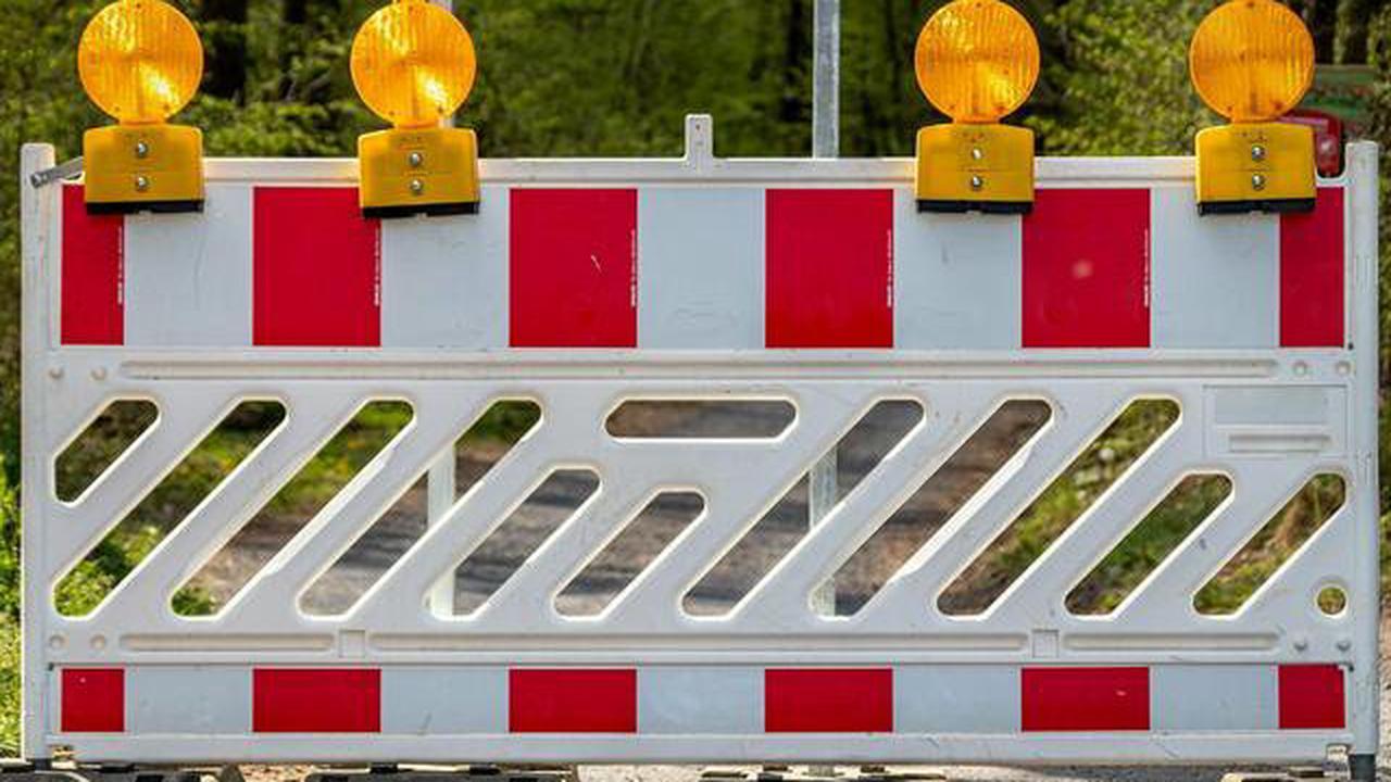 Afholderbach bis zur Kronprinzeneiche: Sperrung der B62 um einen Tag verlängert