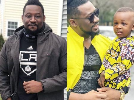 Actor, Daniel K Daniel, Shares Lovely Photos Of His Son
