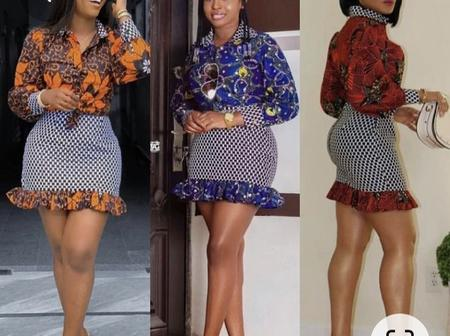 Check Out These Trending Short Ankara Skirts & Blouses You Can Wear To Look Elegant & Classy