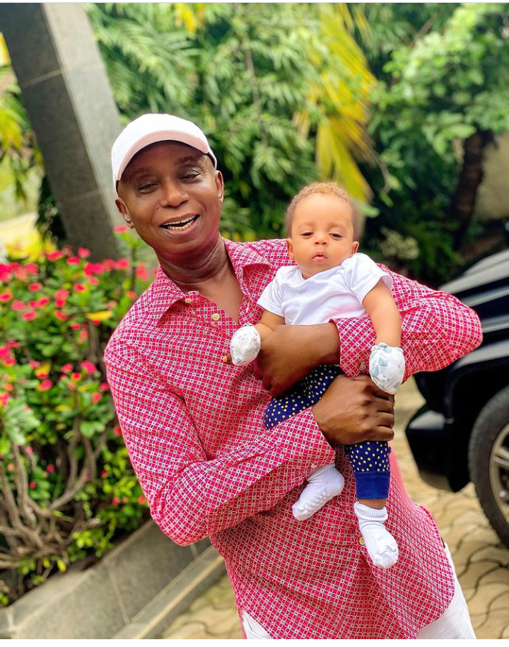 Today is Munir Nwoko's birthday, Check out lovely pictures of him spending time with his parents 18