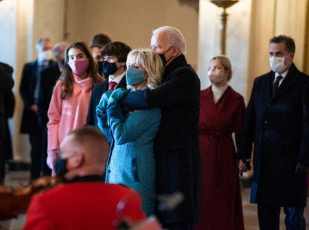 Reactions as US President Joe Biden Pens Heartwarming Message to His Wife on Valentine's day