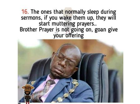 Different Types of People You'll Meet In A Nigerian Church (Funny Memes)