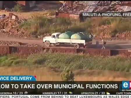 Service delivery, Freestate, Eskom to take over municipal functions