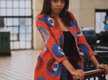 Classy And Trendy Ankara Kimono Attires For Beautiful Ladies