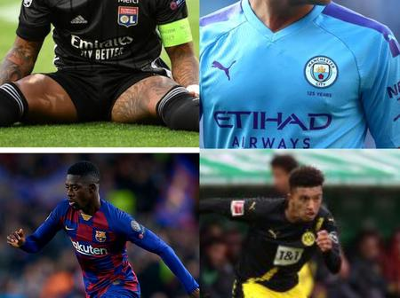Deadline Day: No Sancho And Dembele To Man U, No Memphis Depay And Eric Garcia To Barcelona