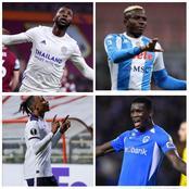 Iheanacho Nets Brace, Aribo, Osimhen, Onuachu Also Score For Their European Clubs
