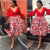 Check Out Lovely Ankara Outfits That You Can Rock