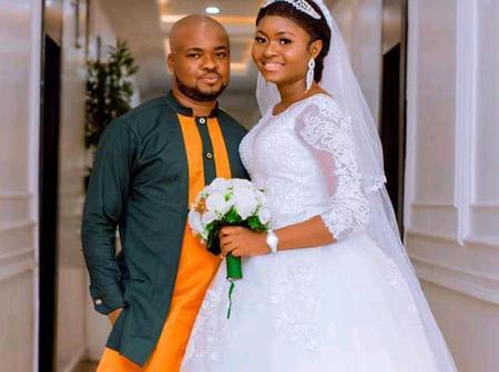 Pastor rocks lovely 'senator' wear for his white wedding
