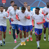 Photos: Check Out Chelsea Stars In Training Ahead Of Tuesday's Tie Against FC Porto