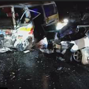 Grisly Late Night Road Accident at Utawala Bypass